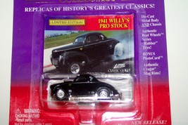 1941 Willy's Pro Stock 1999 Classic Gold Collection Johnny Lightning - $6.99