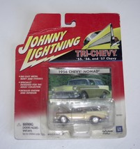 Johnny Lightning 2001 Tri-Chevy Collection 1956 Chevy Nomad Gold - $6.99