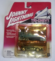 Johnny Lightning 2001 Tri-Chevy Collection 1956 Chevy Bel Air Green - $5.99