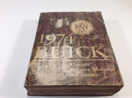 1974 Buick Factory OEM Chassis Service Manual All Series Original - $14.99