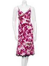 BEAUTIFUL NEW $4,595 DOLCE & GABBANA FLORAL SILK DRESS - $1,345.50