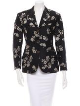 Crazy Cool $2,795 'Handprint' J EAN Paul Gaultier Jacket In Taupe & Black - $355.50