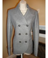 BNWT ALEXANDER MCQUEEN DOUBLE BREASTED GRAY JACKET - $495.00