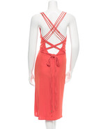 CRAZY COOL, NEW $1,875 VERSACE SLEEVELESS DRESS WITH LACE UP BACK (NWT) - $607.50
