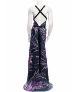 GORGEOUS NEW $1,490 ROBERTO CAVALLI SILK MAXI DRESS - $469.35