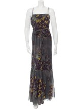 GORGEOUS NEW $1,095 FLORAL JEAN PAUL GAULTIER SLEEVELESS FLORAL MAXI MES... - $595.00