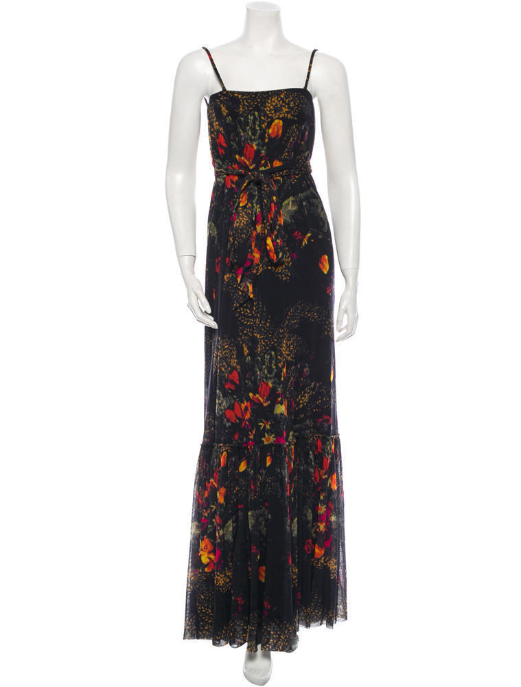 Primary image for GORGEOUS NEW $1,095 FLORAL JEAN PAUL GAULTIER MESH DRESS (NWT)