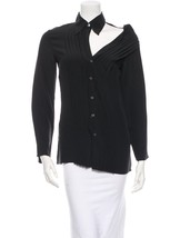 Crazy Cool, Sold Out, Brand New J EAN Paul Gaultier Silk Top (Nwt) - $445.50