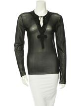 Fabulous New $595 Black Mesh J EAN Paul Gaultier Top (Nwt) - $195.00