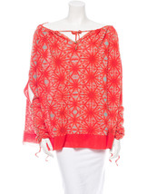 Fabulous, New Cold Shoulder Mesh J EAN Paul Gaultier Top With Ruching - $185.25