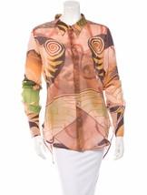 Spectacular, Sold Out, Silk J EAN Paul Gaultier Femme Silk Top - $295.00