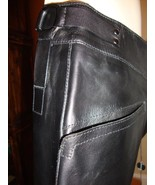 GORGEOUS NEW $2,495 BLACK GUCCI LEATHER PANTS (NWT) - $711.55