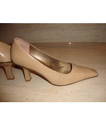 STUNNING NEW ENZO ANGIOLINI TAN LEATHER PUMPS (NWOB) - $65.00
