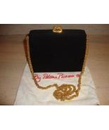 STUNNING, SUPER RARE, BLACK SUEDE PALOMA PICASSO SHOULDER BAG (NWT) - $711.55