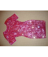 GORGEOUS NEW PINK SEQUIN DRESS BY LILLIE RUBIN - $249.00