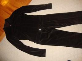 Spectacular New $1,500 Brown Velour Yves Saint Laurent J EAN Jacket And Pant Set - $675.00