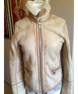 SPECTACULAR $2,795 PRADA SHEARLING JACKET WITH DETACHABLE LINER - $1,075.50