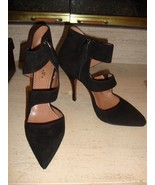 SPECTACULAR NEW $1,875 ALAIA BLACK HEELS (NWB) - $843.75
