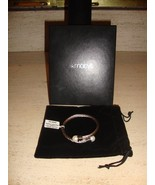 SPECTACULAR NEW CABLE BRACELET WITH PEARLS FROM MACY'S (NWT) - $185.25