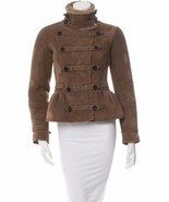 SPECTACULAR NWT BURBERRY PRORSUM TAUPE SHEARLING JACKET - $3,145.50