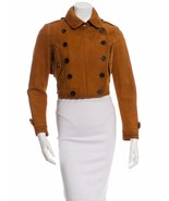 SPECTACULAR NWT SOLD OUT BURBERRY  PRORSUM LEATHER JACKET - $2,695.50