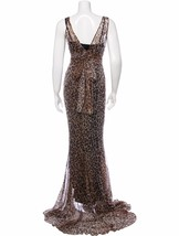 STUNNING NWT $11K DOLCE & GABBANA LEOPARD PRINT SILK MAXI DRESS - $4,125.00