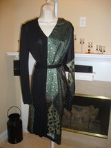 Stunning, Rare, Brand New $2,485 J EAN Paul Gaultier Silk Dress - $535.50