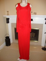 Stunning, Super Rare, New Alice By Temperley Red Cold Shoulder Maxi Dress - $535.50