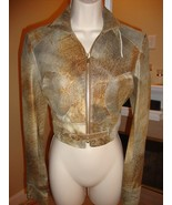 STUNNING, SUPER RARE, SOLD OUT,  NEW IRWIN & JORDAN LEATHER JACKET (NWT) - $715.50