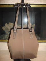 Stylish New Brown SATCHEL/TOTE Bag By Nine West (Nwt) - $46.55
