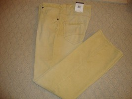 STYLISH NEW CORDUROY JEANS FROM TOMMY HILFIGER (NWT) - $38.00