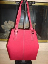 Stylish New 'Red' SATCHEL/TOTE By Nine West (Nwt) - $46.55