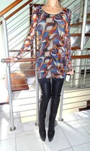 Super Stylish, New J EAN Paul Gaultier Top / Tunic (Nwt) - $220.88