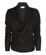 SUPER STYLISH $1,660 SOLD OUT HELMUT LANG CUTOUT LEATHER JACKET - $607.50