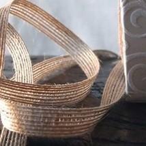 Burlap Ribbon, 3/8 inch x 25 yards, Rustic, Vintage, Wedding - $18.32