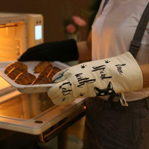 GREVY Gants de Cuisine Four Anti Chaleur Manique et Gant pour Cuisiner,...