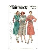 Vintage Misses Size 16 Butterick 6381 Quick Dre... - $6.00