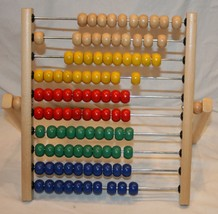 IKEA Abacus Counting Toy Math Homeschool Home School Colorful Educational - $18.10