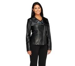 Dennis Basso Platinum Collection Lamb Leather J... - $232.63