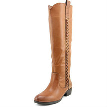 New Mia Coaster Women Round Toe Synthetic Knee High Fashion Boot Size 7 ... - $27.71