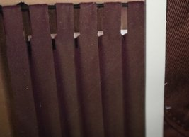 """Style Selections 84""""L Chocolate Twill Solid Window Panel - $22.68"""