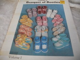Crochet A Bouquet of Booties Volume 1 - $5.00