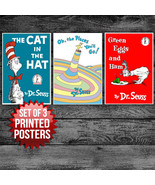 DR. Seuss ART DECOR -  SET OF 3 POSTERS (SIZE: ... - $32.50