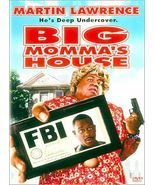 Big Mommas House (DVD, 2000, Special Edition) - $7.00