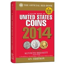 A Guidbook of United States Coins 2014: The Official Red Book (Guide Boo... - $2.36