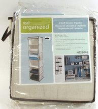 Real Organized 6-shelf Sweater Organizer and 12 Side Pockets for Additio... - $7.01