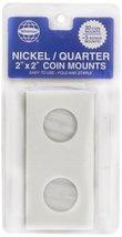 "Whitman Nickel/Quarter 2"" x 2"" Coin Mounts  - $6.99"