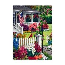 Rain or Shine Small Country Garden Flag 12.5 x 18 - $8.81
