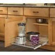 "Rev-A-Shelf 7"" x 20-3/8"" x 22"" In-Cabinet Chrom... - $57.70"