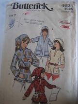 Vintage  70s Pattern Child  7 Loose Fitting Shirt Scarf B462 - $5.95
